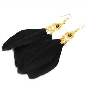 Evolving Always Jewelry - Feather Earrings